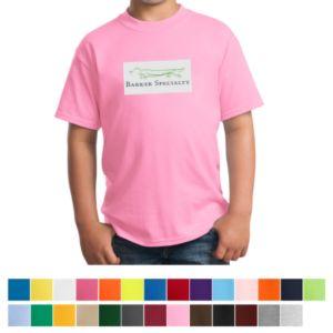 e3471b95b86 Port   Company® - Youth 50 50 Cotton Poly T-Shirt